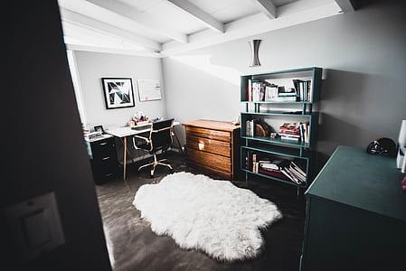 White Floor Rug