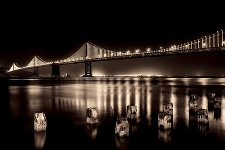 Gold Gate Bridge, California USA