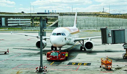 photo of Air Bus landing