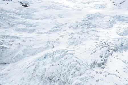 white snowy terrain