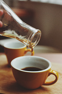 Freshly brewed filter coffee