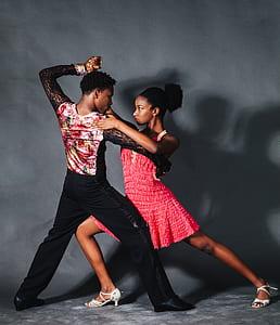 photo of couple dancing