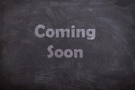 Coming Soon on blackboard