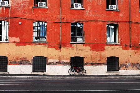 Photo of  Bicycle on the Pavement