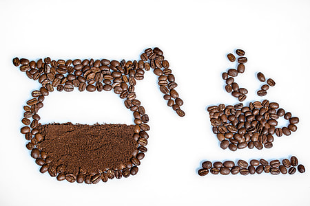 coffee beans artwork