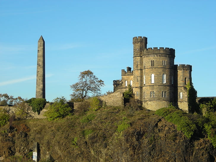grey castle building with tower during daytime