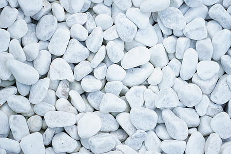 white beach stone lot