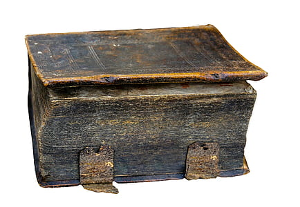 brown wooden container
