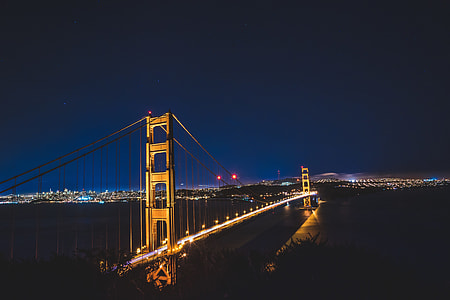 architectural photography of a Golden Gate, California