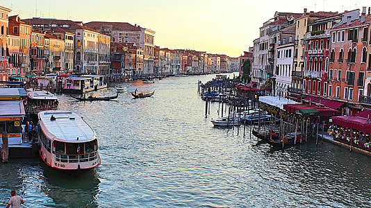 Venice, Grand Canal during daytime