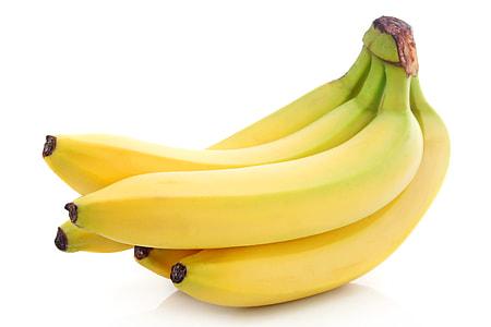 yellow banana fruit