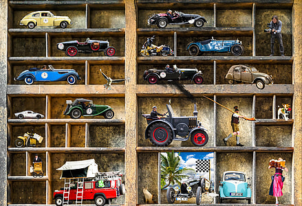 die-cast toy cars painting