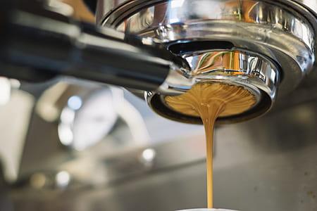 stainless steel espresso machine