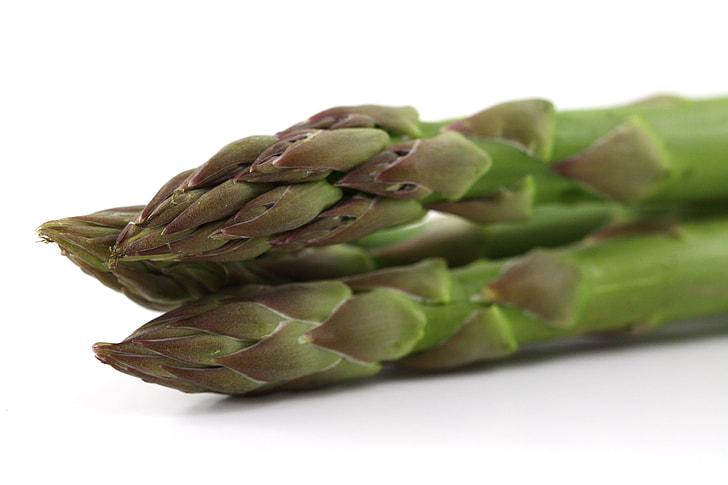 Asparagus close-up