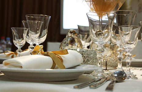 fine dining set