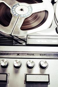 Retro Audio Reel Grundig