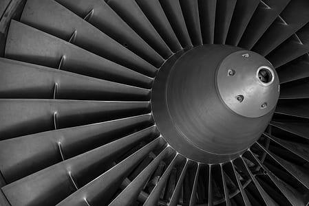 gray propeller