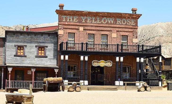 The Yellow Rose 2-storey restaurant