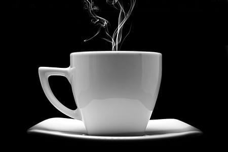 steaming mug