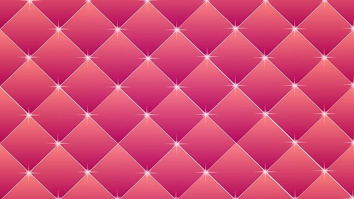 pink grid 3D illustration