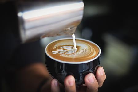 selective focus photography of espresso