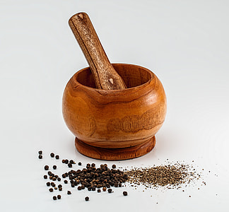 Pepper and mortar