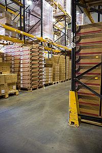 brown cadboard box lot