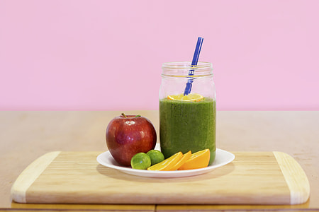 Smoothie in kitchen