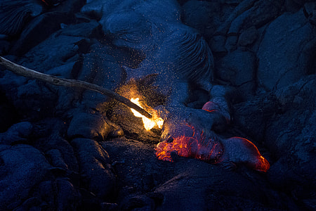 fire - Natural Phenomenon, heat - Temperature, flame, campfire