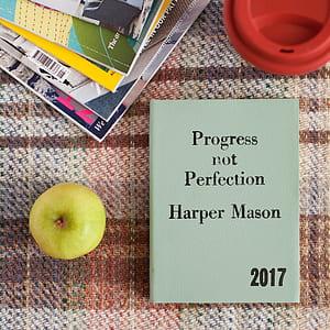 Progress not perfection harper mason besides green fruit