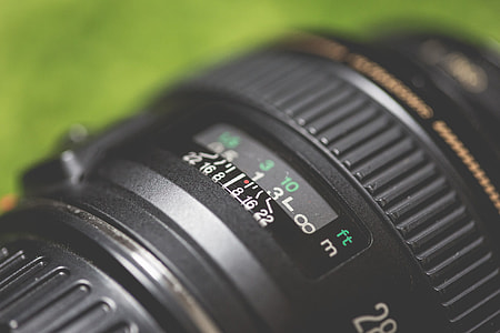 DSLR Camera Lens Macro Close Up