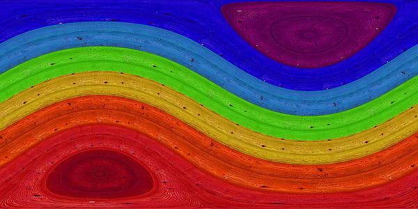 rainbow graphic wallpaper