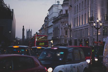 City Traffic Evening