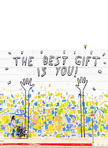 The Best Gift is You text