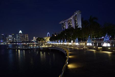 landscape photography of Marina Bays Sans Singapore