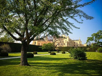 Park and Lednice Castle, Czech Republic