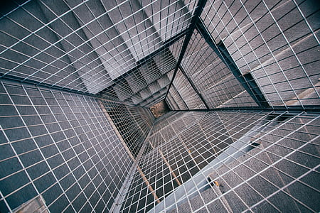 staircase, modern, abyss, hole, interior, architecture