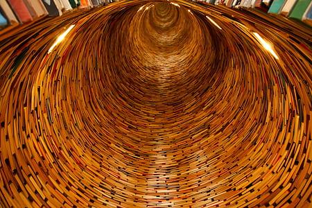 Brown Round Hole