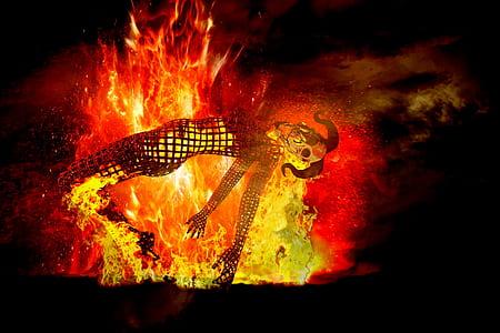 firepit illustration