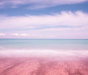 shoreline and bodies of water landscape photograph