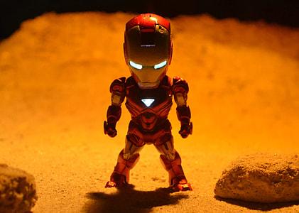 Iron Man plastic figure
