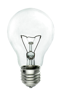 bulb with stainless steel base