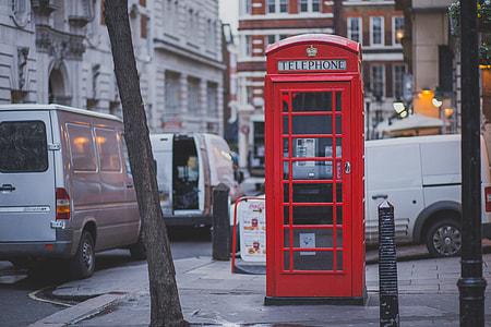 Red Telephone Box London Street