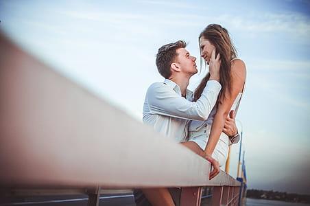 macro shot of couple