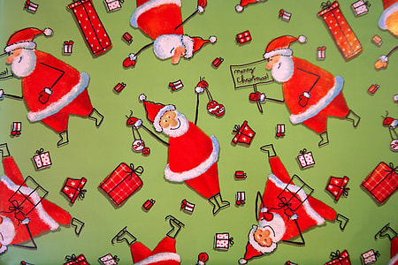 Santa Claus stereogram