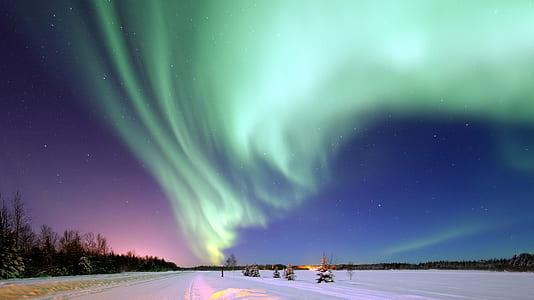 Aurora Borealis scenery