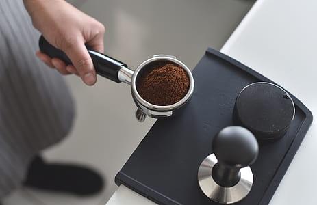 black coffeemaker accessory