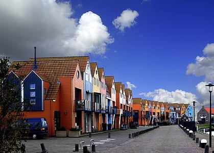 Multicolored House Photo