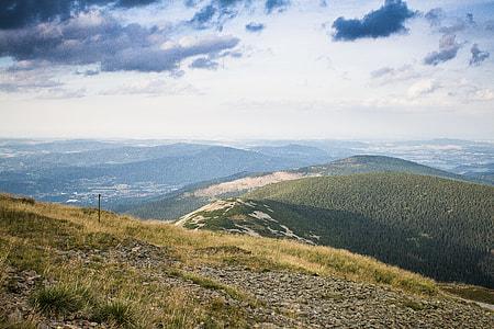 The Top of Sněžka Mountain, Czech Republic