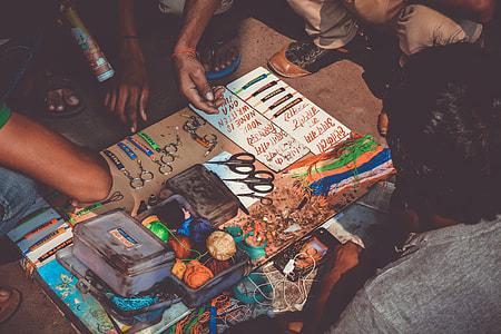 name, diy, craft, creative, scissors, band